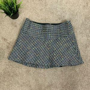 Bebe Woman Mini Skirt Winter Gray Sz: 4